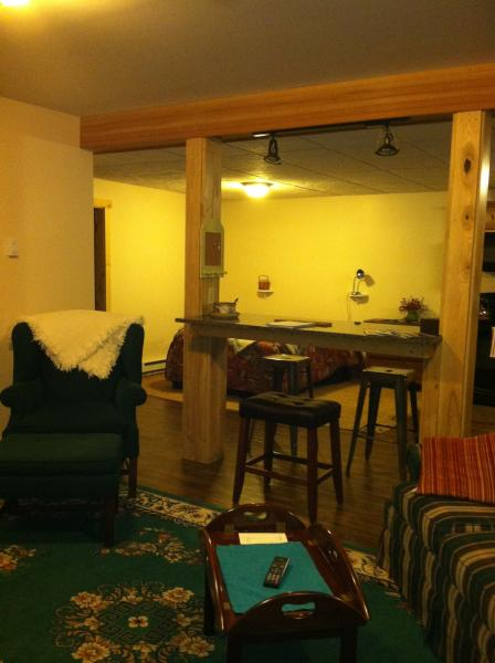 View of bedroom area #2 - Built in 2013, Lake Placid Village Apartment - Lake Placid - rentals