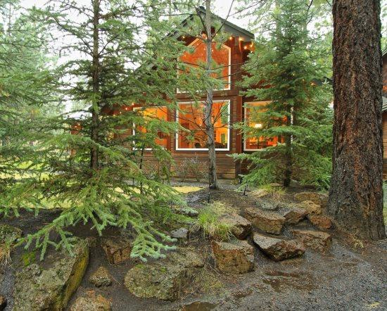 Nestled in the woods, front of home - Pet Friendly 3 bedroom home on a private acre - Sisters - rentals