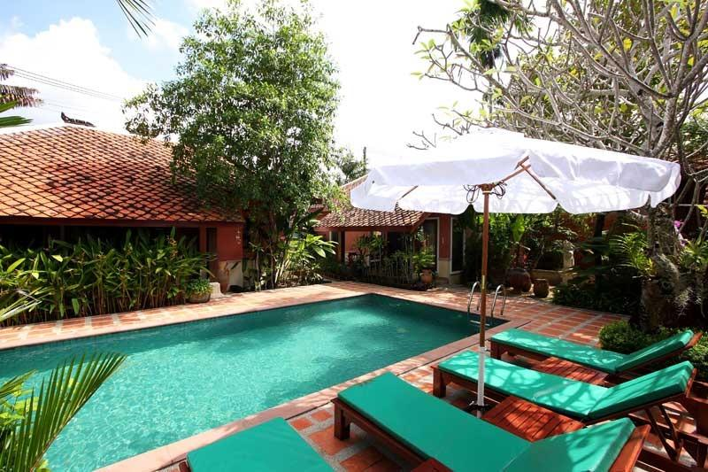 Villa Lila - 3 bedroom Balinese style villa - Image 1 - Kamala - rentals
