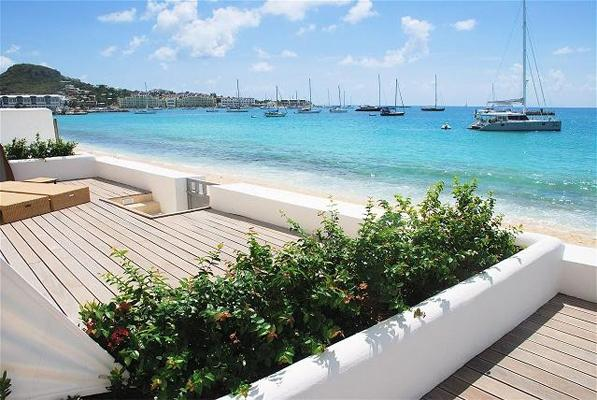 Aqualina 102, Simpson Bay, St Maarten 480 480 8555 - AQUALINA 102...Face the gorgeous Caribbean Sea along one of St. Maartens longetst beaches - Simpson Bay - rentals