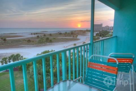 Top Floor Private Balcony View - 607 - South Beach Condos - Treasure Island - rentals