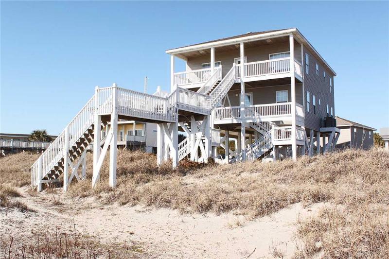 Pirate's View 7801A East Beach Drive - Image 1 - Oak Island - rentals