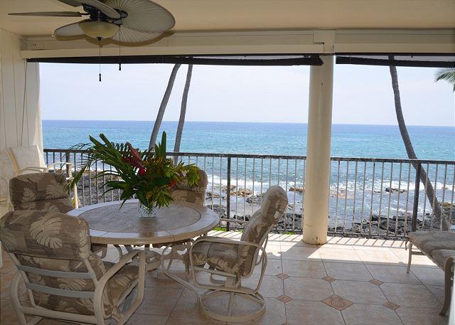 2 Bedroom, 2 Bath, Oceanfront Condo - Image 1 - Kailua-Kona - rentals