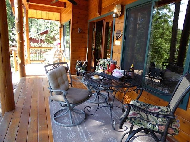 Trade that saddle for a nice rocking chair and nice cup of coffee - Wanna Go Away? 3 Bd  2 bath On the Roaring Chiwawa River  $199-399 - Leavenworth - rentals