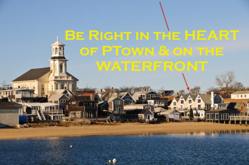 WATERFRONT and Right in the Heart of Ptown! - 2 BR Panoramic Beach Front ★2 Floors★Downtown★A/C - Provincetown - rentals