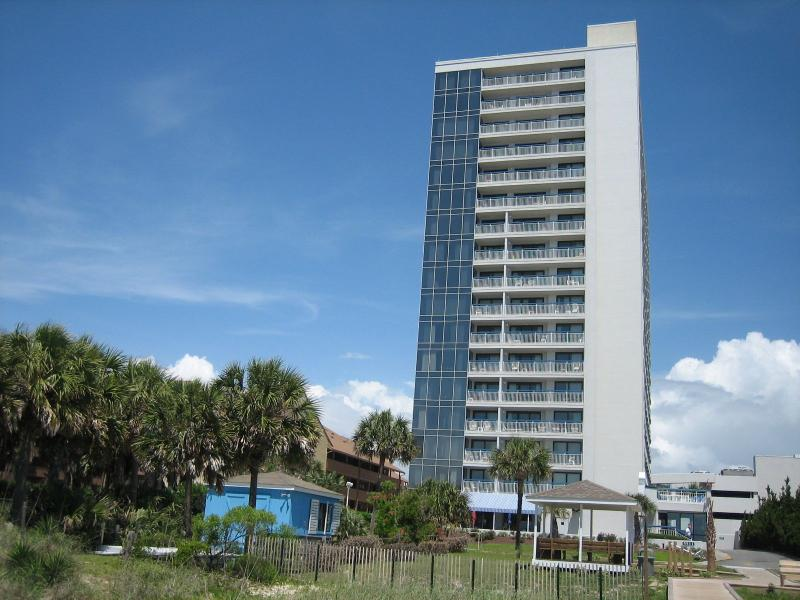Building is only one unit wide, so great beach views from all windows - Rare Views-Lovely Penthouse-Oceanfront Resort - Myrtle Beach - rentals