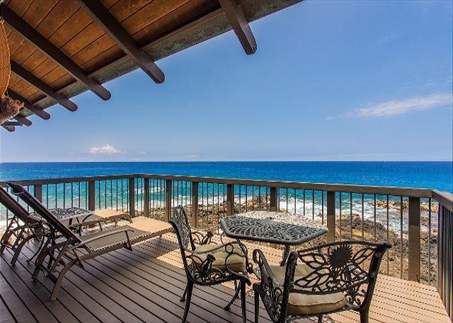 Beautiful Ocean Front Lanai - #PHBliss - Kona Bliss at Kona Onenalo-PHBliss - Kailua-Kona - rentals