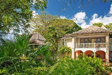 Mullins Mill on 8 acres with tennis court, infinity pool and private beachhouse - Image 1 - Barbados - rentals