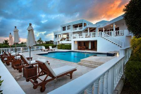 Harmony - Traditional style villa with 2 pools, jetted tub and a 2 minute golf cart ride to the beach - Image 1 - Anguilla - rentals