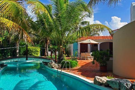 L'Embellie Villa - Secluded villa with cottage on an acre of lush gardens & freshwater pool - Image 1 - Forest Bay - rentals