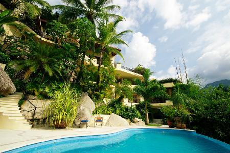 Casa Kalista - Tropical Paradise, Exquisite Three Story Waterfall, Infinity Pool - Image 1 - Mismaloya - rentals