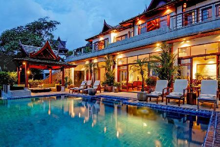 Villa Arawan boasts superb ocean views, infinity pool- jetted tub - Image 1 - Cherngtalay - rentals