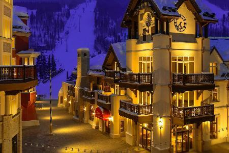 Luxe Apartment with View on Vail Ski Slopes Featuring Stone Fireplace, Balconies and jetted tub - Image 1 - Vail - rentals