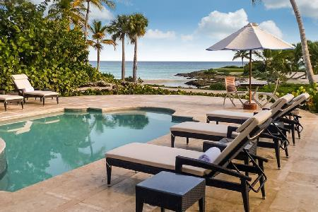 Oceanfront Caleton Villa with private pool, full staff & Beach Club access - Image 1 - Punta Cana - rentals