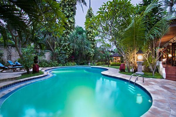 Private Swimming Pool with Children Section - Family 3 Bedroom Pool Villa Baliana - Baliana Legian 3 Bdrms, Mins Walk to Beach & Shops - Legian - rentals