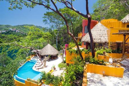 Eco-friendly, Cliffside, Villa Mandarinas with salt water pool & exceptional staff - Image 1 - Mismaloya - rentals