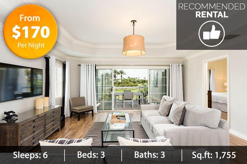 Cabana Court Paradise - New Luxury Modern Furniture 3 Bed Condo - Image 1 - Reunion - rentals