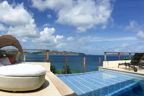 A villa with home gym and high end furnishings in St Barts WV CLV - Image 1 - Pointe Milou - rentals