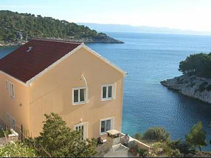 house - 2237  A4(2+1) - Cove Osibova (Milna) - Cove Osibova (Milna) - rentals
