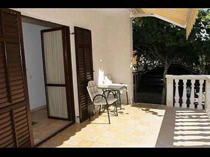 A1 Ana(2): terrace - 4972 A1 Ana(2) - Zadar - Zadar - rentals