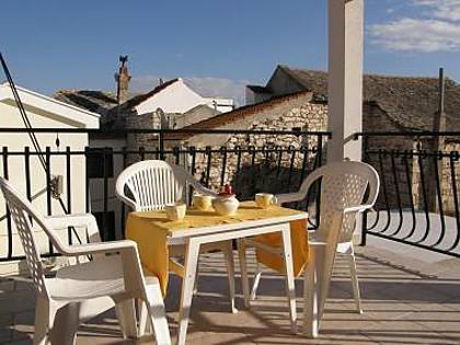A1(2+1) donji: terrace - 5090 A1(2+1) donji - Primosten - Primosten - rentals