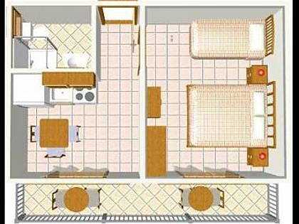 A1(3): floor plan - 5252  A1(3) - Igrane - Igrane - rentals