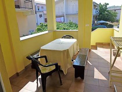 A1(6): terrace - 5287  A1(6) - Njivice - Njivice - rentals