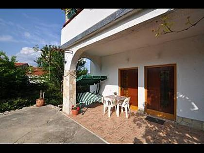 SA1(2): terrace - 5379  SA1(2) - Vrbnik - Vrbnik - rentals