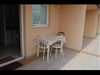 A1(3+1): terrace - 5428 A1(3+1) - Jezera - Jezera - rentals