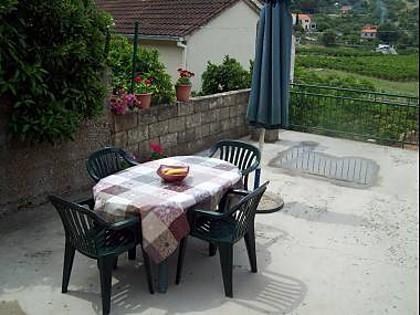 A1(7): terrace - 5550 A1(7) - Postira - Postira - rentals