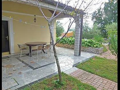 Dvojka(2+1): terrace - 5582 Dvojka(2+1) - Njivice - Njivice - rentals