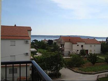 A1(6+2): terrace view - 5656 A1(6+2) - Kastel Luksic - Kastel Luksic - rentals