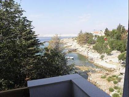 A3(2+2): view - 5796 A3(2+2) - Ribarica - Croatia - rentals