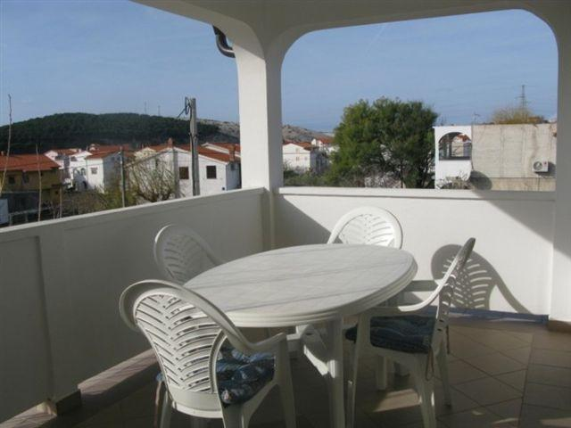 A1 Plavi (4): covered terrace - 5903 A1 Plavi (4) - Lopar - Lopar - rentals