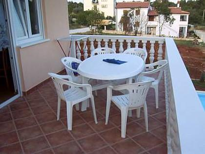 B6-A(4+2): terrace - 6087  B6-A(4+2) - Umag - Murine - rentals