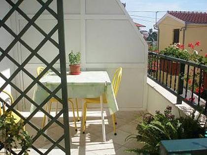 SA1(2): balcony - 6164  SA1(2) - Seget Vranjica - Seget Vranjica - rentals