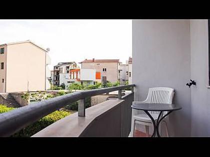 A1(2+2): balcony view - 7393  A1(2+2) - Tucepi - Tucepi - rentals