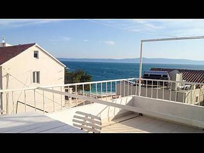 A5(2+2): sea view - 7393  A5(2+2) - Tucepi - Tucepi - rentals