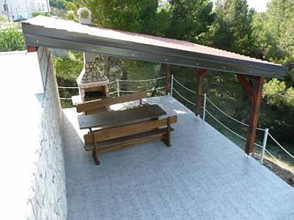 common terrace (house and surroundings) - 7867  A6(2+2) - Brela - Brela - rentals
