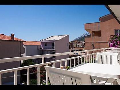 A4(4+2): balcony - 6062 A4(4+2) - Makarska - Makarska - rentals