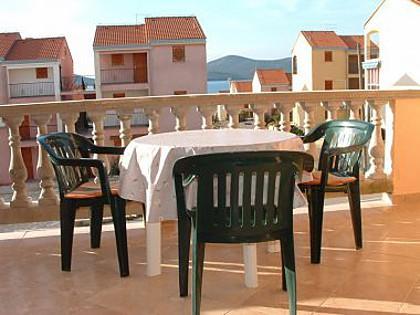 A2(2+2): terrace - 00505BIOG A2(2+2) - Biograd - Biograd - rentals