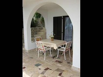 A3 Prizemlje (2+2): terrace - 00209PISA  A3 Prizemlje (2+2) - Pisak - Pisak - rentals