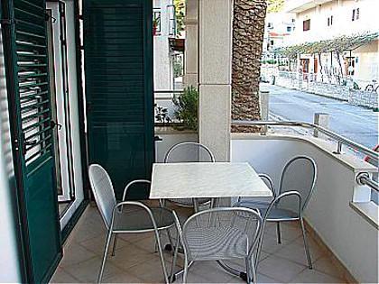 A2(4+1): terrace - 01013DRVE  A2(4+1) - Drvenik - Drvenik - rentals