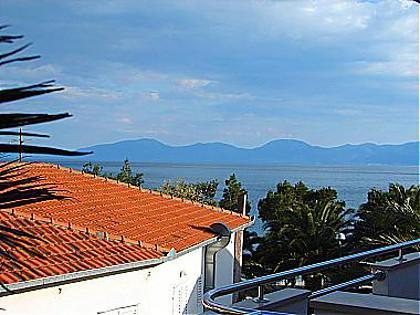 A5(4+1): terrace view - 01013DRVE  A5(4+1) - Drvenik - Drvenik - rentals