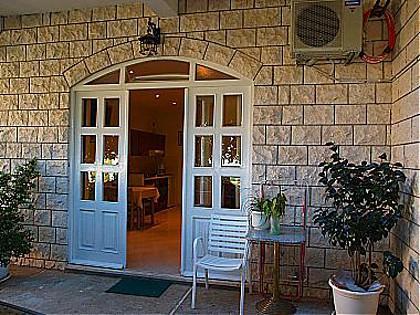 SA10(2+2): garden terrace - 02916CAVT SA10(2+2) - Cavtat - Cavtat - rentals