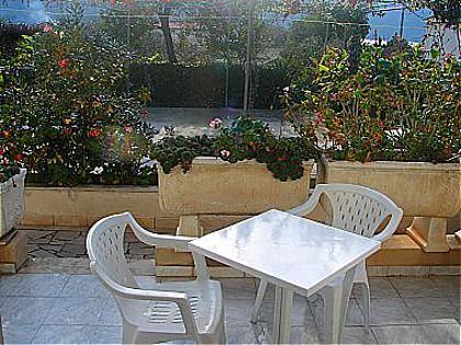 SA1(2+1): garden terrace - 00617VIGA SA1(2+1) - Viganj - Viganj - rentals