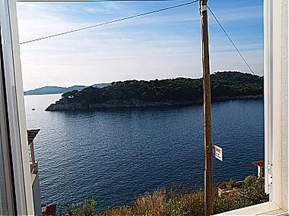 SA Mali(2+1): window view - 00816ZATD  SA Mali(2+1) - Zaton (Dubrovnik) - Zaton (Dubrovnik) - rentals