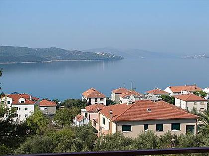 A2 potkrovlje (4+1): terrace view - 02212OKRG  A2 potkrovlje (4+1) - Okrug Gornji - Okrug Gornji - rentals