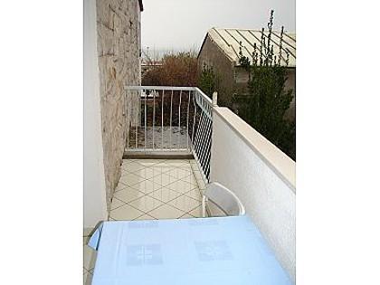 SA2 plavi (2): balcony - 02609DUCE SA2 plavi (2) - Duce Luka - Duce - rentals