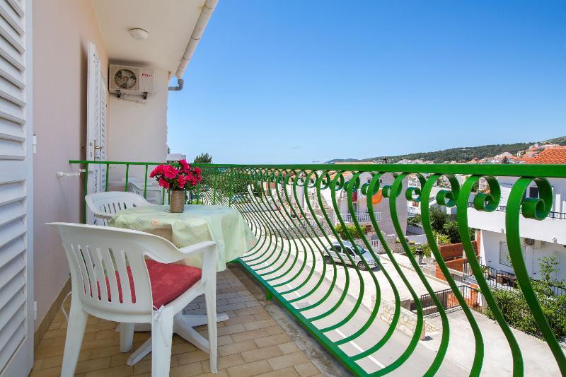 A2(5): balcony - 06803HVAR A2(5) - Hvar - Hvar - rentals
